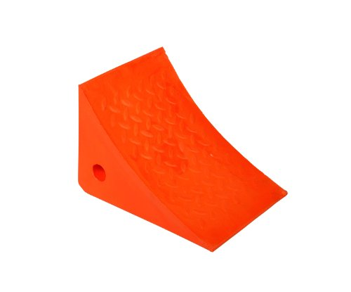 IRONguard-60-7208-811-11-Orange-Urethane-Wheel-Chock-8-Height-x-11-Width-x-8-Length