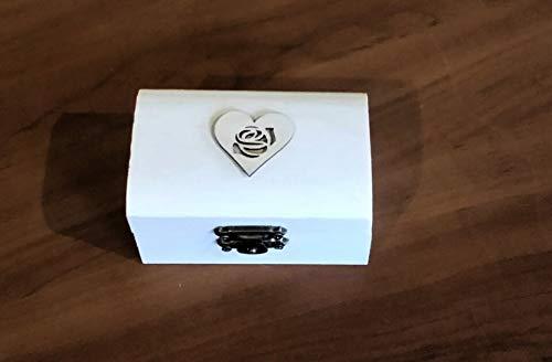 boîte de bague de mariage, boîte de découpage, boîte porteur d'anneau, boîte à bijoux, découpage, boîte à bijoux en bois, boîte à bagues, alliances sur mesure, boîte personn
