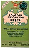 Long Dan Xie Gan Wan, 200ct, a.k.a. Snake & Dragon, Gentiana Liver Teapills Review