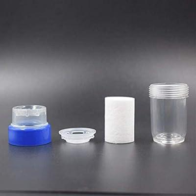 Zyyqt Cocina Mini Grifo, Filtro Tap Médico Piedra de Agua Limpia purificador de filtración con Cartuchos Grifo del baño Accesorios de Cocina: Amazon.es