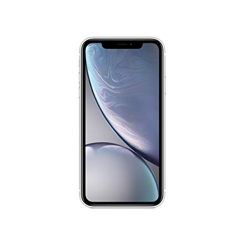Apple iPhone XR, 128GB, Silver - For AT&T / T-Mobile (Renewed)