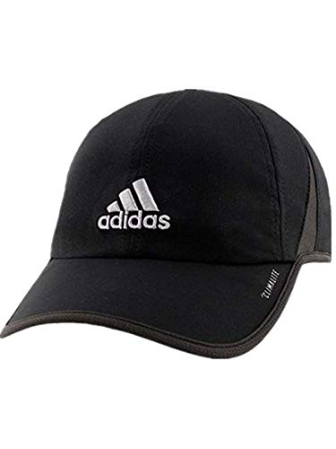 f3f32ece095d6 adidas Men's Fit Climalite UPF 50 Cap Hat (Black/Grey)