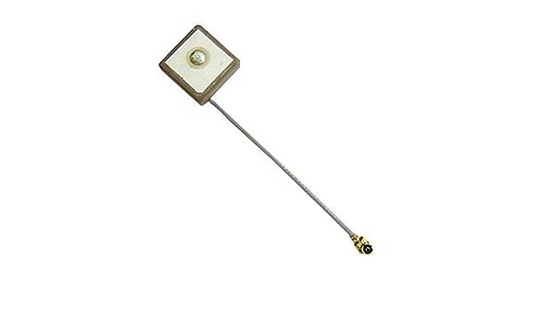Antena GPS, 15 x 15 mm, Antena Interna IPEX, Conector I-Pex ...