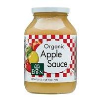 Eden Foods Applesauce, Og, 25-Ounce (Pack of 6)