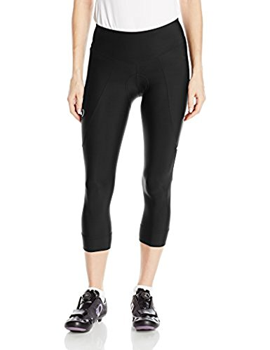 Pearl Izumi Women's Select Pursuit 3/4 Tight Black / Black XS & Sweatband Bundle by Pearl Izumi, USA