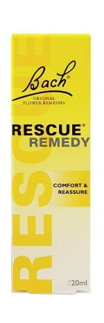RESCUE REMEDY DROPPER, 20ml - Natural Homeopathic Stress Relief