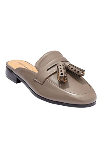 Comfortview Dames Plus Size Josie Muilezels Donker Taupe