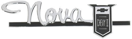"Trim Parts 3024 Glove Box Door Emblem (1963-1964 Chevy II/Nova, ""Nova Chevrolet II"")"