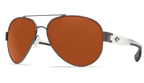 Del Mar With Copper Gunmetal Point Sunglasses South Costa Crystal Temples 6ZBqTwRTd