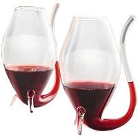 Thirsty Gift Copas para sorber vino de Oporto