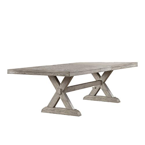 ACME Rocky Dining Table - - Gray Oak