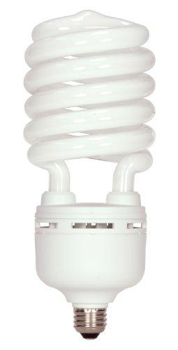 Satco S7399 85 Watt (350 Watt) 5700 Lumens Hi-Pro Spiral CFL Daylight White 5000K Medium Base 120 Volt Light Bulb