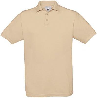 B&C Safran Mens Polo Shirt / Mens Short Sleeve Polo Shirts (2XL ...