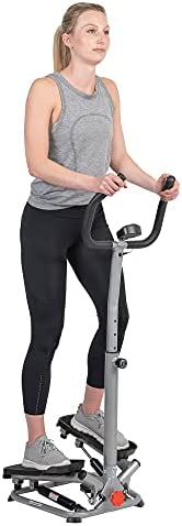Sunny Health & Fitness Stair Stepper Machine with Handlebar – SF-S02