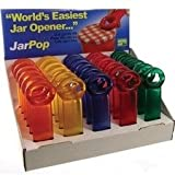 Brix 70200pro Frosted Jar Opener, Assorted Color, Display Of 30