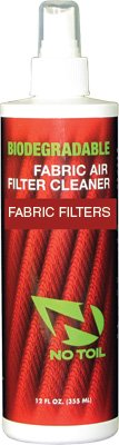 No Toil Biodegradable Fabric Filter Cleaner - 12oz. Bottle NT303