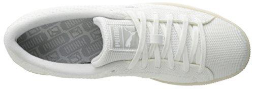 Puma Herenmand Gebreid Mesh Fashion Sneaker Wit-grijs Violet