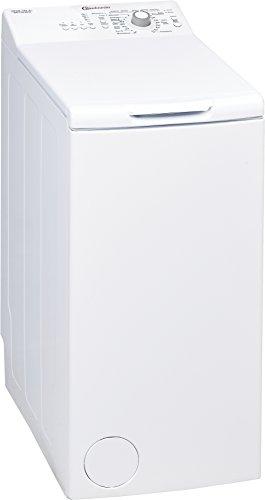 Bauknecht WAT Prime 552 SD Waschmaschine TL / A++ / 161 kWh/Jahr / 1200 UpM / 5,5 kg / Kurz 15 schnelle Wäsche in 15 min /Mengenautomatik / weiß