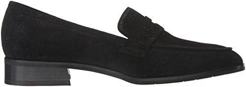 Loafer Suede Women's On Sharon Slip Pebbled Aquatalia Black qavYw