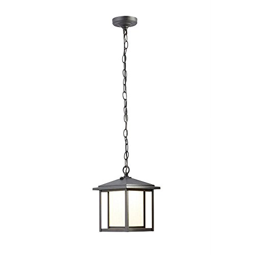Mauvo Canyon Collection small exterior Led Hanging Lantern - Exterior Collection