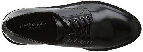 Black Chaussures Femme Lumberjack à Cb001 Lacets Jodie Noir YPwqZw85