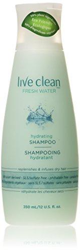 Live Clean Fresh Water Hydrating Shampoo 12 oz