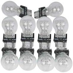 Pack of 10 ACDelco 4114K GM Original Equipment Multi-Purpose Light Bulb