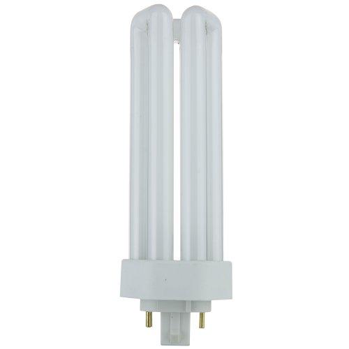 Sunlite PLT32/E/SP50K/10PK 5000K Super White Fluorescent 32W PLD Triple U-Shaped Twin Tube CFL Bulbs with 4-Pin GX24Q-3 Base (10 Pack) by Sunlite (Image #1)