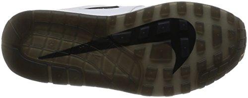 Nike Men Air Max 1 Premium Sc Bianco Nero 918354-103 Bianco / Nero