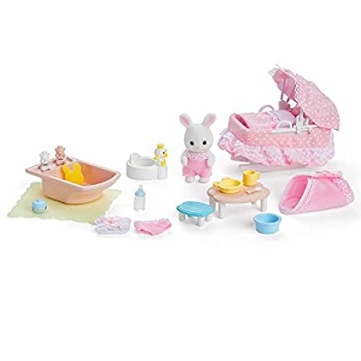 Calico Critters, Sophie's Love N Care, Doll Playset, Collectible, Ready to Play: Toys & Games