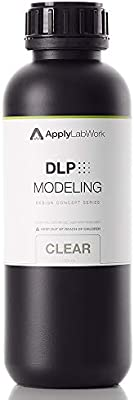 ApplyLabWork 3D Resin for DLP Printers MoonRay Printers Compatible Modeling T...