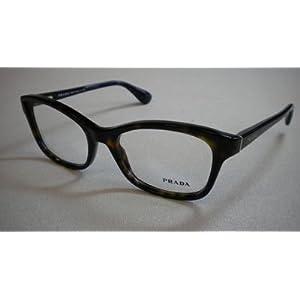 Prada PR05PV Eyeglasses-2AU/1O1 Havana-52mm