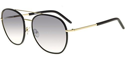 lunettes de soleil mesdames lunettes de soleil les marées les visages star des lunettes vintage de nouveaux styles élégant de personnalités de la corée du sudbright black grey (tissu) vhh7qyZWw