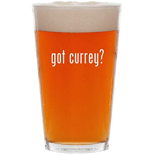 (got currey? - 16oz All Purpose Pint Beer Glass)