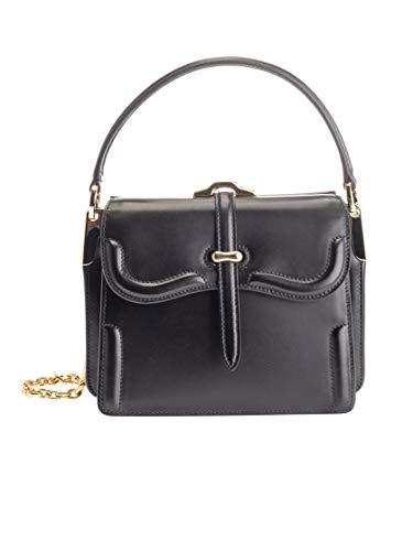 Luxury Fashion | Prada Woman 1BN010VOOG2AIXF0002 Black Leather Handbag | Fall Winter 19