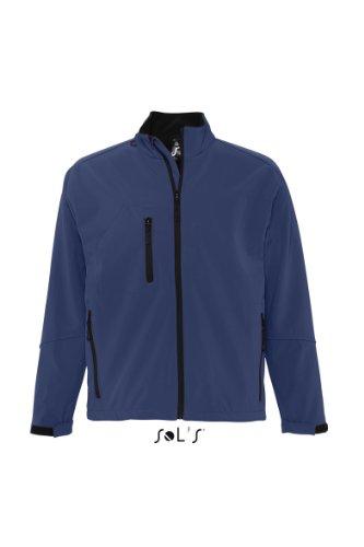 L866 SOL?S Herren Softshell Jacke Relax (bis Größe 3XL) L,Abyss Blue
