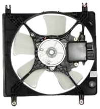 TYC 600810 Mitsubishi Eclipse Replacement Radiator Cooling Fan Assembly (Mitsubishi Eclipse Radiator Cooling Fan)