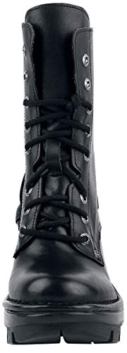 Boots Womens Leather New neotyre07x M s1 Nero Rock a75BqxY