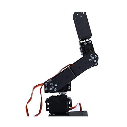 6 DOF 3D Rotating Mechanical Robot Arm Kit For Smart Car - Arduino Compatible SCM & DIY Kits Smart Robot & Solar Panel - (Bracket with Metal Helm + six DS3115 servos) - 1 x DIY 6 Digit LED Large by Unknown (Image #4)