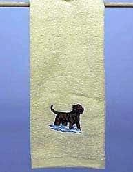 Hand Towel: Chesapeake Bay Retriever