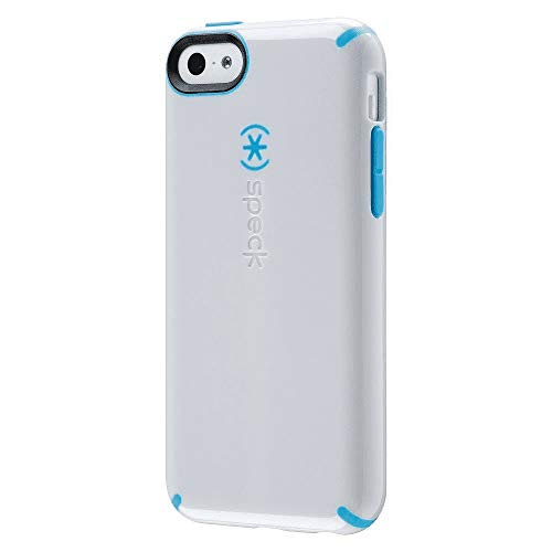 Speck CandyShell Cell Phone Case for iPhone 5C - White/Blue (SPK-A2641)