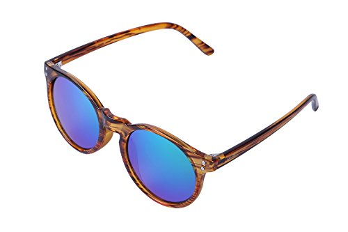 ULLERES Unisex UV Protection Polarized Sunglasses (Strip DEMI, - Uv Light Sunglasses Which Block