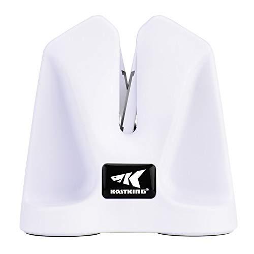 KastKing Auto-Adjust V Fillet Knife Sharpener, White