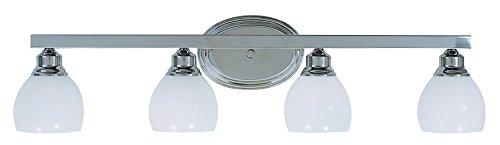 Framburg 3014 PS 4-Light Belmont Sconce, Polished Silver