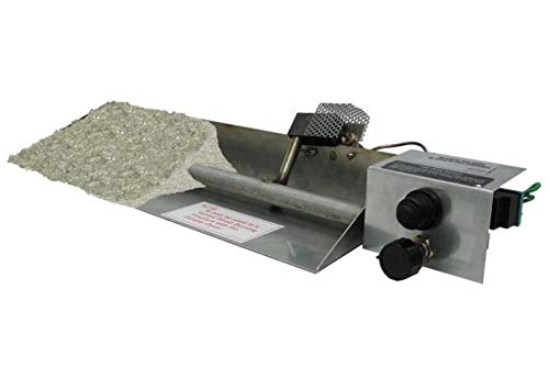 RH Peterson Real Fyre 24'' Vented Stainless Steel ANSI Certified Glass Burner - LP by RH Peterson