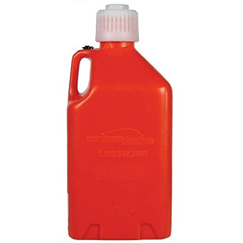 Scribner Plastics (2000O-6PK Orange Utility Jug - 5 Gallon Capacity, (Pack of 6)