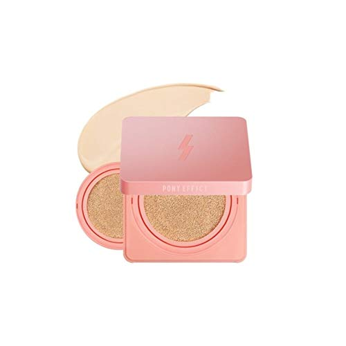 [Sale+gift] PONY EFFECT 2019 COVER STAY LIMITED FOUNDATION CUSHION+REFILL(15g+15g) (Best Foundation Of 2019)