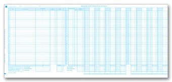 amazon com egp sales cash receipts journal sheet accounting