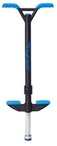 Flybar Velocity Pro Pogo Stick Medium - Ages 9 & Up, 80 to 160 Lbs (Blue)