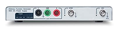 GW Instek AFG-125P USB Modular Arbitrary Function Generator, 1uHz-25MHz Frequency Range, 2.5V/3.3V/5.0V Output Voltage, 0.6A Output Current